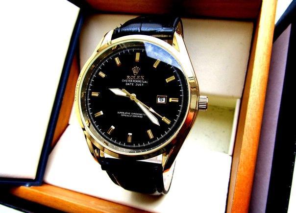 Мужские кварцевые ROLEX. Стильные часы ROLEX. Мужские часы реплика.