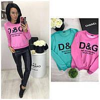 Женский свитшот (свитер, реглан) D&G