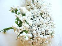 Тычинки белые для цветов10 шт
