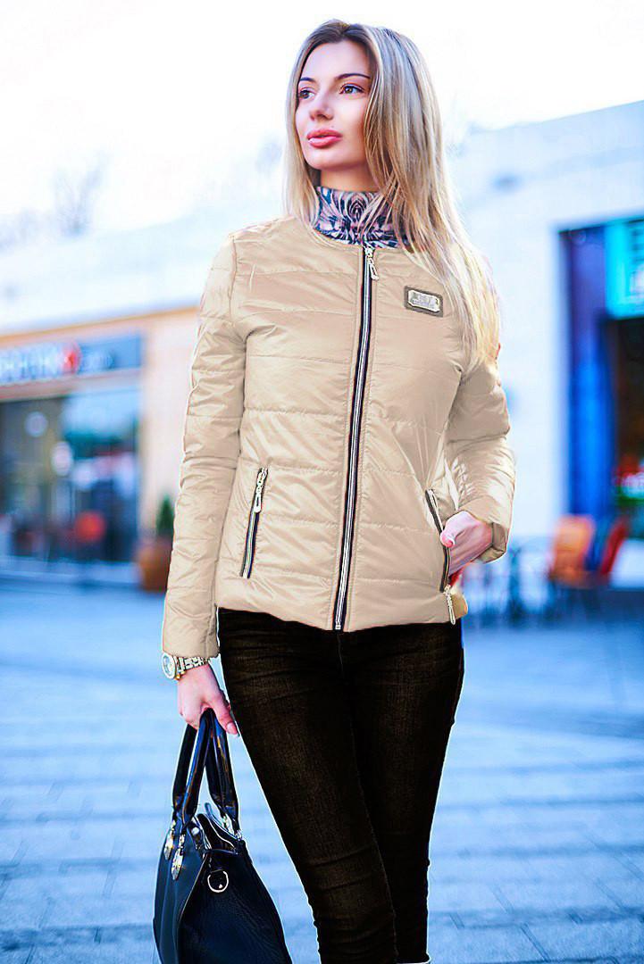 f09b33c26b6 Стильная женская куртка на синтепоне 8001