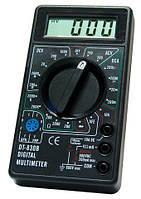 Мультиметр dt-830в, цифровой, универсальный, питание – 9в, проверка транзисторов, фото 1