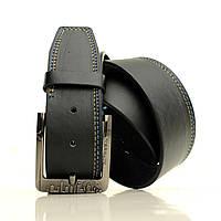 Кожезаменитель матовый на джинсы  Ремень L4511W2 черный