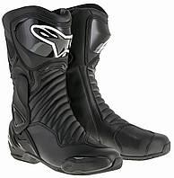 "Обувь Alpinestars S-MX 6 V2 black ""39"", арт. 2223017 1100, арт. 2223017 1100"