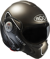 Мотошлем ROOF Boxer V8 Devil антрацит черный мат 61 (XL)