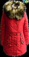 Женская зимняя парка LILIYA P.p S-2XL