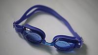 Очки для плавания со сменными носиками и антифогом DOLVOR adult DARK BLUE