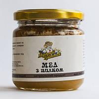 Мёд с цветочной пыльцой 250 г