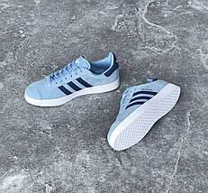 Женские кроссовки в стиле Adidas Gazelle, фото 3