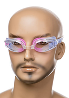 Очки для плавания со сменными носиками и антифогом DOLVOR adult COLOUR LIGHT