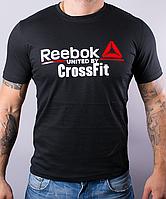 """Футболка мужская """"Reebok Crossfit"""", рибок черный"""