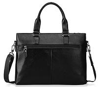 Мужская кожаная сумка. Модель 61213, фото 3