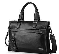 Мужская кожаная сумка. Модель 61213, фото 2