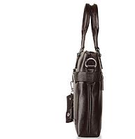 Мужская кожаная сумка. Модель 61213, фото 9