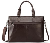 Мужская кожаная сумка. Модель 61213, фото 7