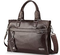 Мужская кожаная сумка. Модель 61213, фото 5