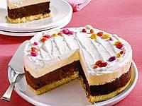 Кремово шоколадный торт