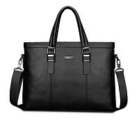 Мужская кожаная сумка. Модель 61214, фото 5
