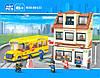 Конструктор Школьный автобус и школа М38-В0333 SLUBAN