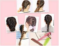 Приспособление основа для плетения кос и колосков, аналог Sports Braider
