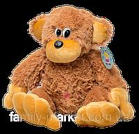 Мягкая плюшевая игрушка Обезьяна 55 см коричневая