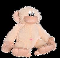 Плюшевая игрушка Обезьянка 55 см бежевая