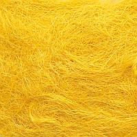 Сизаль для декорирования (#1) желтая