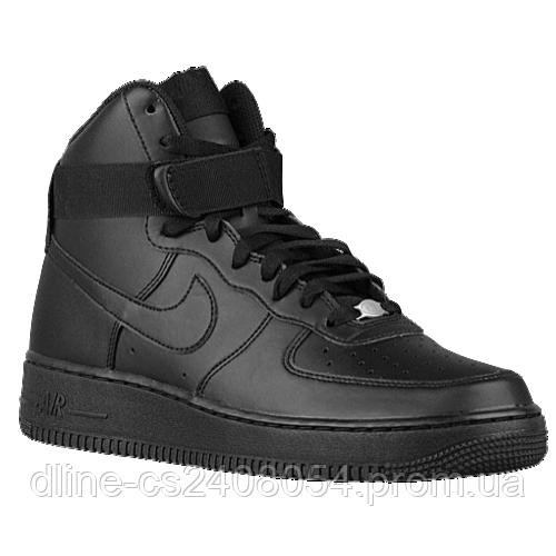 Мужские кроссовки Nike Air Force High Черные