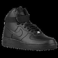Мужские кроссовки Nike Air Force High Черные, фото 1