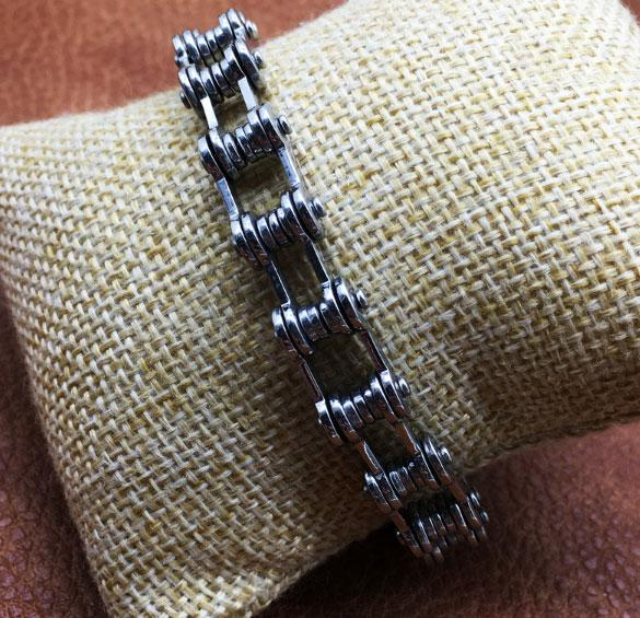 Мужской браслет Primo Biker - Silver