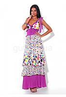 Платье летнее макси Waggon Paris