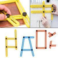 Инструмент- линейка  Multifunctional folding ruler