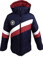 Супер модная тёплая зимняя куртка для мальчиков,возраст 5-14 лет,цвета разные S487