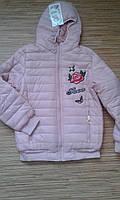 Куртка деми юниор на девочку 8-16