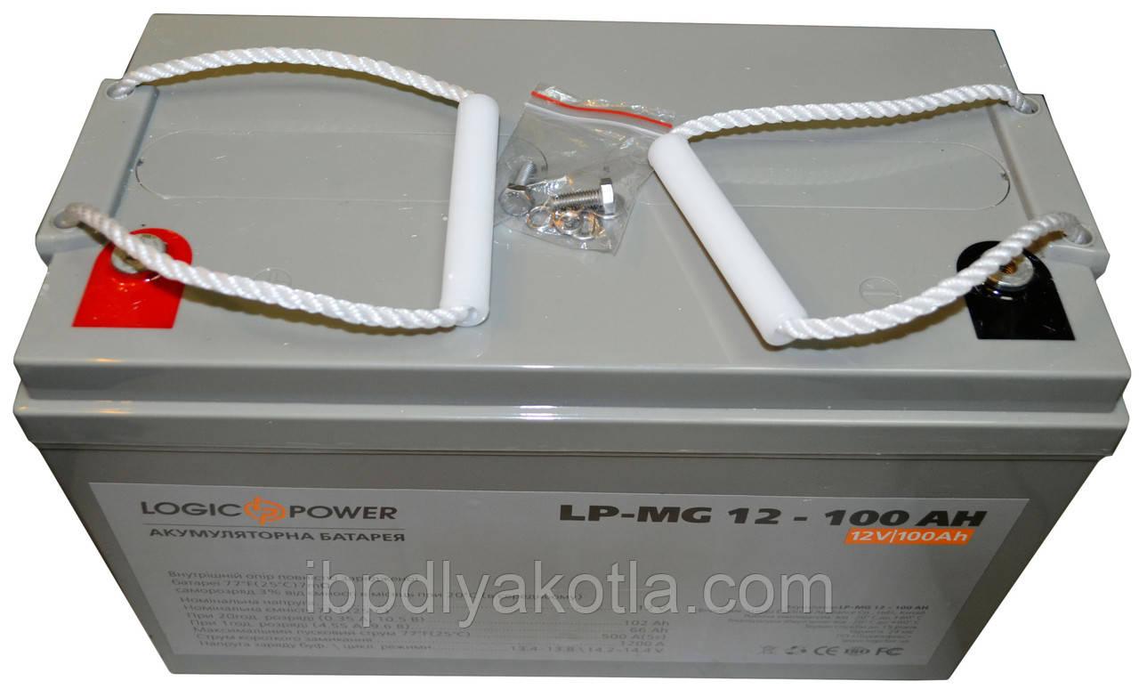Logicpower LP-MG 12V 100AH silver