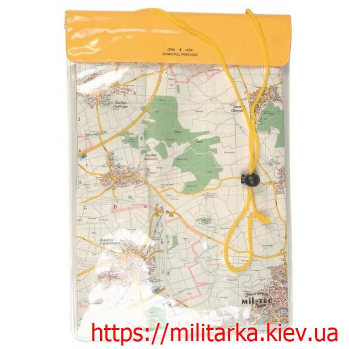 Чехол водонепроницаемый для документов карт Mil-Tec