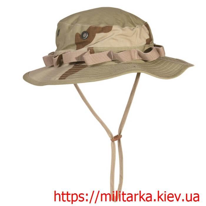 Панама мужская Mil-Tec GI Boonie Hat 3-color desert