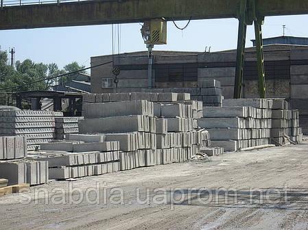 Блоки фундамента ФБС 9.6.6, фото 2