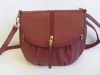 Стильная женская сумка Beiyani бордового цвета