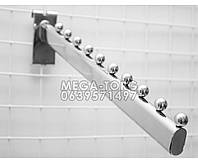 Кронштейн (Флейта) овальная на сетку на 10 шаров 40 см