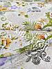 """Льняная ткань для постельного белья """"Exotique"""" (шир.185 см)"""