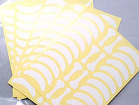 Виниловые патчи для изоляции ресниц (14 пар на листе)