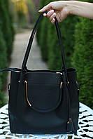 Сумка женская модная черная
