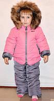 Зимняя куртка и полукомбинезон для девочки