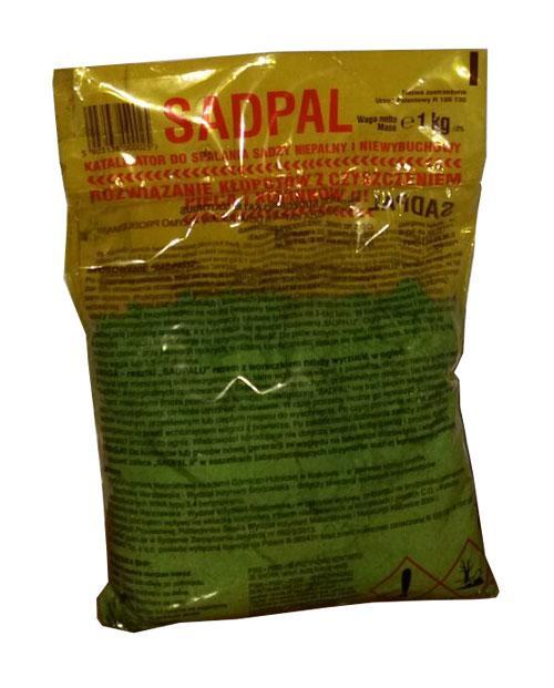 Катализатор для сжигания сажи Sadpal 1 кг (средство для чистки дымоходов) Польша