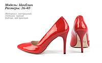 Лаковые туфли на шпильке, фото 1
