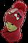 Шапка+шарф для девочек Камни м 7041,3-12 лет, флис, фото 2