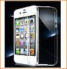 Силиконовый чехол Ultra-thin на IPhone 4/4s Clean Grid Transparent
