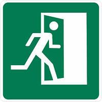 "Наклейка ""Эвакуация. Выход направо"""