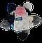 Шапка+шарф для девочек зимний м 7051, 5-15 лет, флис, фото 3