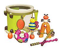 Музыкальная игрушка ПАРАМ-ПАМ-ПАМ 7 инструментов, в барабане Battat (BX1007Z)